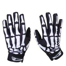 Outdoor Bike Cycling Motorcycle Racing Skull Skeleton Full Finger Gloves Mittens