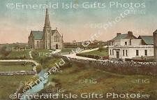 Donegal Bundoran R.C. Church old colour Old Irish Photo - Size Selectable
