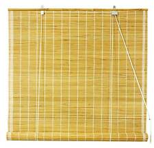 Matchstick Roll Up Blinds in Natural [ID 405703]
