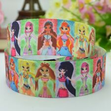 "Winx Club Grosgrain Ribbon 22mm 7/8"""" by the yard Hairbows"