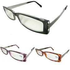 Womens Ladies Designer Metal Reading Glasses +1+1.25+1.5+1.75+2.25 R94