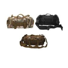 Outdoor Military Tactical Waist Pack Bag Molle Assault Backpack Tote Rucksack