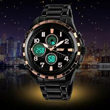 SKMEI Multifunction Analog-Digital Dual Time Sport 30M Waterproof Men Watch F5F3
