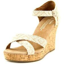 Toms Strappy Wedge Wedge Sandal Women 5046