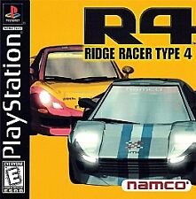 R4: Ridge Racer Type 4 - Complete (Sony PlayStation 1, 1999) PS1 VG+