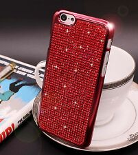 Bling Swarovski Element Crystal Diamond Red Soft case For iphone 6 Plus {pY185
