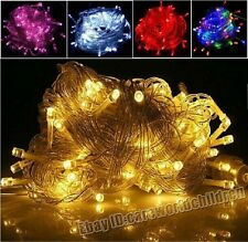 XMAS Decorative 10M 100 LED Bulbs Wedding Party String Lights Fairy Lights Lamp