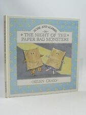 SUSIE AND ALFRED IN THE NIGHT OF THE PAPER BAG MONSTERS - Craig, Helen. Illus. b