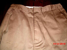 Girls Khaki Omega school uniform Pants sz16
