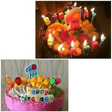My 1st Birthday Cake Candle Kids First One Anniversary Cake Candle Paraffin S1I5