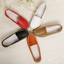 Women Spring Flats Shoes Slip On Comfort Flat Loafers Shoes Casual Leisure Shoes