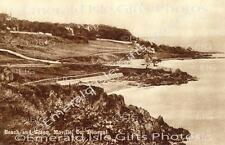 Donegal Village of Moville and coast Old Irish Photo Print - Size Selectable
