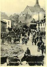 Donegal Market Day in Ramelton Old Irish Photo Print - Size Selectable - Ireland