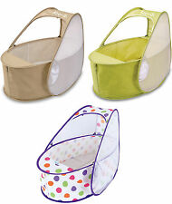 Koo-di POP-UP TRAVEL BASSINETTE CRIB Baby/Child Travel Bed Sleeping - New