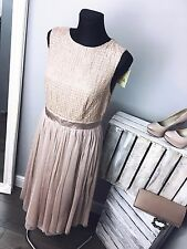 Maya Embellished Top Midi Dress with Tulle Skirt RRP £85 (AS-12/26)