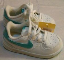 NIKE LIL' ACE '83 TODDLER WHITE LEATHER TENNIS SHOES ~ Size 7.5 C or 8 C ~ NWT