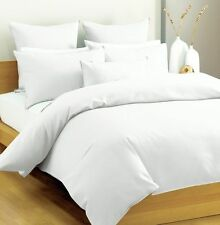 1000TC 100% Egyptian Cotton Fresh Bedding Sets White Solid All US Size