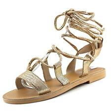 Kenneth Cole Reaction Zoom In   Open Toe Leather  Gladiator Sandal NWOB