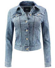 Ladies Denim Denim JACKET NEW CHRIS LS DNM jacket Blue Denim Women's jacket