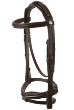 Jeffries Wembley Pro Flash Bridle with Nylon Lined Rubber Reins