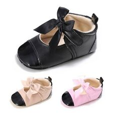 Cute 0-18M Baby Kids Soft Sole Leather Shoes Infant Boy Girl Toddler Sneaker New