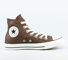 Converse  All Star - Pinecone -  Leather - 140026C - Hi Tops  RRP £59.95 Size 8