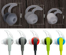1/3 Pairs Silicone Earbuds Tips Replacement for Bose In Ear Headphones Earphones