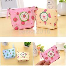 Girls Kawaii Gift Cartoon Canvas Mini Bag Fruit Wallet Coin Purse New
