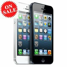 Apple iPhone 5 4S 16GB 32GB 64GB - Unlocked SIM Free Smartphone Various Colours