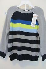 New Gymboree Boys Striped Sweater Pullover Size 3T new with tags