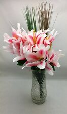 Tiger Lilly, Onion Grass Artificial Flowers