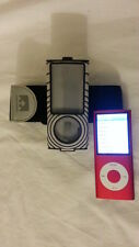 Apple iPod A1285 8GB nano 4th gen red w Nathan armband 924 songs Bundle