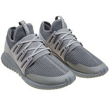 Women S76718 Adidas Radial Tubular Running shoes gray white sneakers