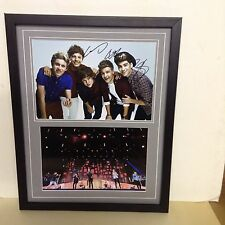 One Direction Hand Signed/Autographed Photograph & COA