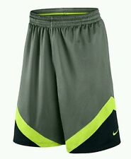 New Nike Men's Swoosh Basketball Training Dri-Fit Short Gray 823505 037 S OR L