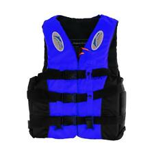 Polyester Adult Kids Life Jacket Universal Swimming Boating Ski Vest + Whistle
