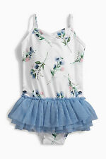 ВNWT NEXT Girls Kids Swimwear Costume • Floral Tutu Swimsuit • 18-24 Months