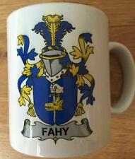 Family Name Coat of Arms Crest on Coffee CUP MUG - WALKER to WILSON