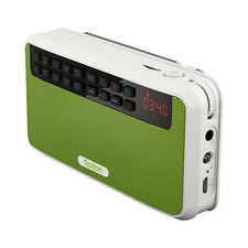 Portable Stereo Bluetooth Wireless Rechargeable Speaker Mini FM Radio MP3 Player