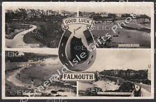 Cornwall Falmouth Multi-view Old Photo Print - Size Selectable - England
