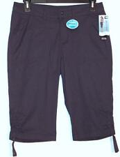 NWT Lee Relaxed Fit More Comfort Mid Rise Stretch Skimmer Capri Pants 6P 10P