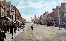 Bedfordshire Dunstable High St  in colour Old Photo Print - Size Select