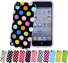 TPU Gel Silicone Polka Dot Case Cover for Apple iPod Touch 5th 6th Generation