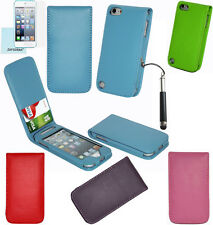Leather Flip Card Wallet Case Cover for Apple iPod Touch 5th 6th 5/6 Generation
