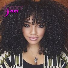 New Afro Kinky Curly Wigs With Bangs Curly Full Lace/Front Lace Human Hair Wigs