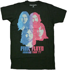 Pink Floyd Faces Adult T-Shirt -Rock Band David Gilmour, Roger Waters Music Tee