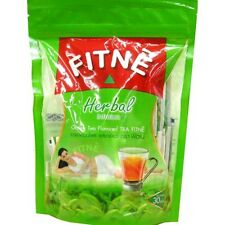 FITNE Herbal Green Tea Infusion Weight Loss Slimming Diet Supplement x 30 Bags