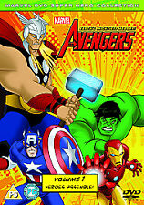The Avengers - Earth's Mightiest Heroes: Volume 1 DVD NEW