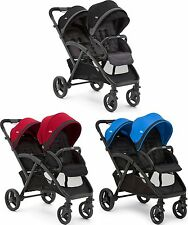 Joie EVALITE DUO TWIN STROLLER Double Buggy/Pushchair Baby/Toddler 0m+