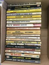 Lot of 22 Vintage Western Paperback Books Various Authors